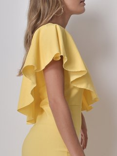 Vestido May Amarillo en internet