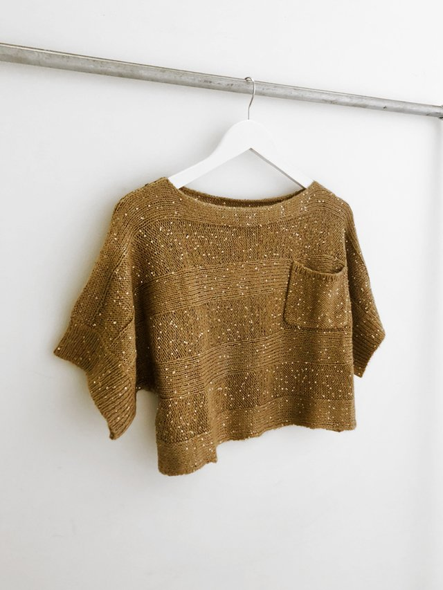 Sweater Morgan Gold en internet
