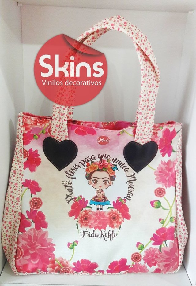 Shopping bag  / Cartera Bolso Ecocuero Estampado Impermeable - Skins
