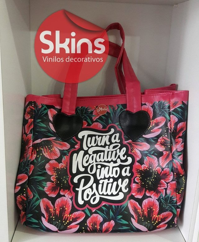 Shopping bag  / Cartera Bolso Ecocuero Estampado Impermeable - tienda online