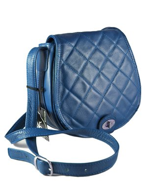 30% OFF Cartera DYMS Cuero solapa matelasee y torniquete -A 4333