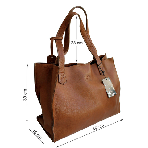 Cartera DYMS  Shopping Bag Cuero - A 4448 en internet