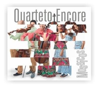 CD Quarteto Encore - Mosaicos (Independente)