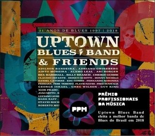 CD Uptown Blues Band - 21 anos de blues (Independente)