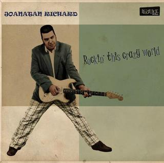 CD Joanatan Richard - Rockin' this crazy world (Independente)