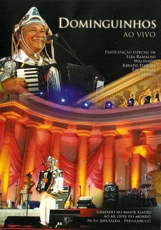 DVD Dominguinhos - Ao vivo (Polydisc)