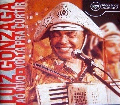 CD Luiz Gonzaga - Ao vivo - Volta pra curtir (Sony) — Passa Disco