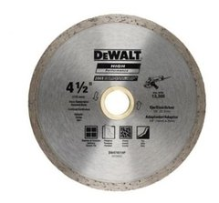 Disco Diamantado Continuo 4 1/2 Dewalt Dw47451hp