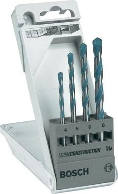 Set Kit Juego 4 Mechas Bosch Multiconstruccion Multimaterial