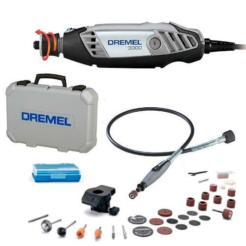 Minitorno Dremel 3000 Kit 30 Accesorios Eje Flexible Maletin - buy online