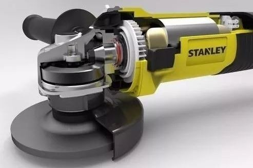 Amoladora Angular 1050w 115mm Stanley Sgs1045 - buy online