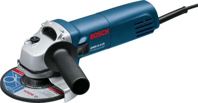 Amoladora Angular Bosch  Gws 6-115 115mm 670 Watts