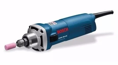 Amoladora Recta Bosch Ggs 28 Ce 650 Watts Veloc Variable