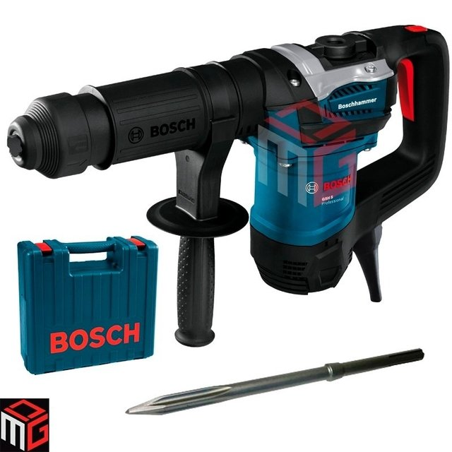 Martillo Demoledor Bosch Gsh 5 1100w 7.5j Maleta Cincel