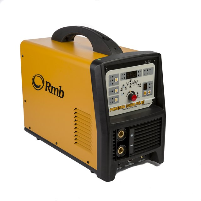 Soldadora Inverter RMB PowerTig 300KD Pulse