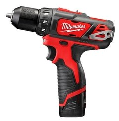 ATORNILLADOR 12V LITIO BAT 2AH MILWAUKEE 2407-259a