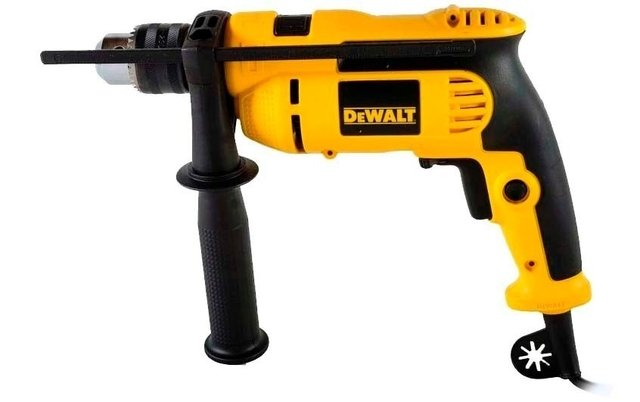 Taladro Percutor Atornillador Dewalt Dwd024 650 W 13mm Veloc Variable