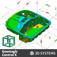 Geomagic Control X - UP3D