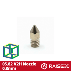 Bico de Extrusão Raise N2 - V2H 0.8mm Nozzle