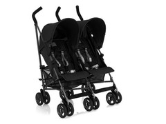 Coche Sombrilla Doble Inglesina Swift Negro