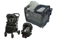 Combo Travel System Davis  + Corral  Soothe Surround™ Graco Colección Oasis
