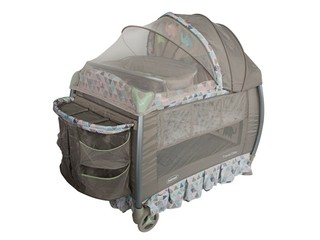 Corral Travel Elite Gris con Verde Prinsel