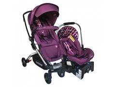 Travel System Eclipse Morado Bebesit