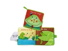 Libro de Tela Find the Frog Manhattan Toy