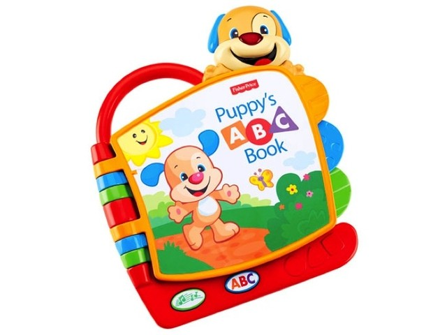 Libro ABC de Perrito Fisher Price