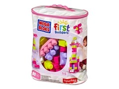 Mega Blocks First Builder Niña Fisher Price