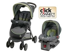 Travel System Graco FastAction Fold Click Connect Colección Monroe