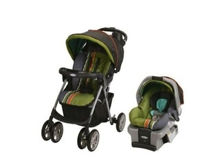 Travel System Graco Spree Classic Connect Colección Gecko