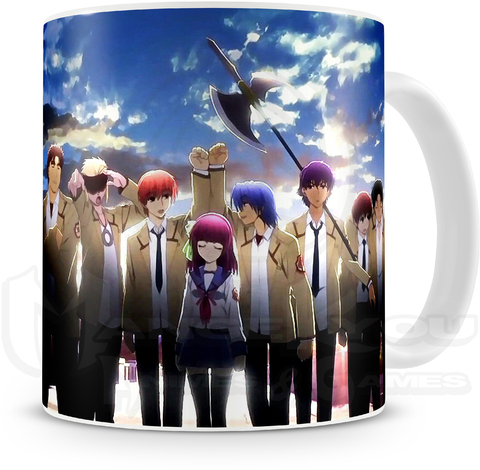 CANECA - ANGEL BEATS - COD. 0017