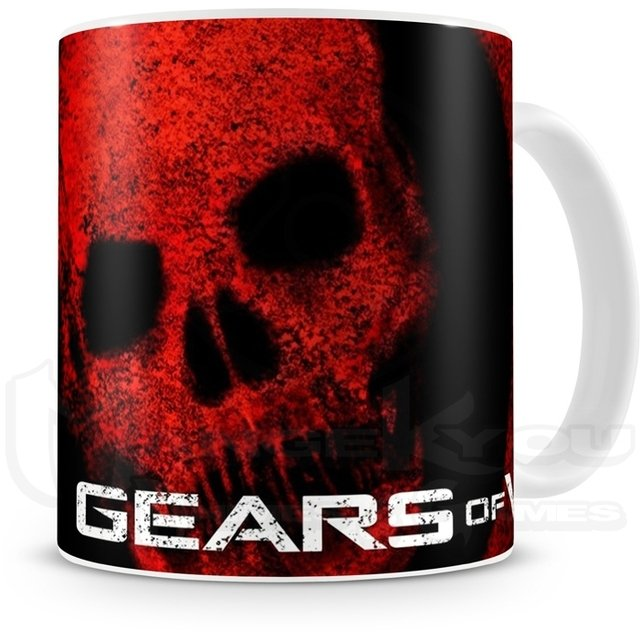 CANECA - GEARS OF WAR - COD. 0543