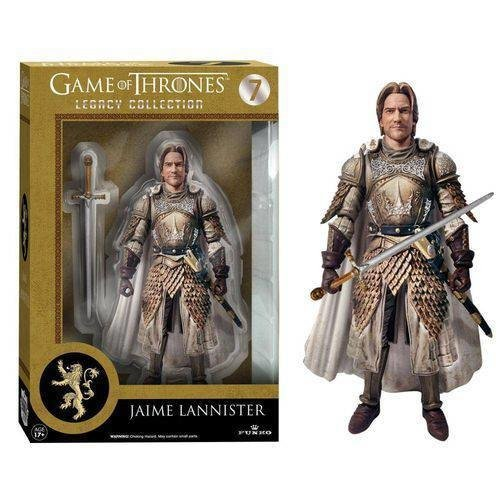 BONECO JAIME LANNISTER: GAME OF THRONES LEGACY COLLECTION - FUNKO
