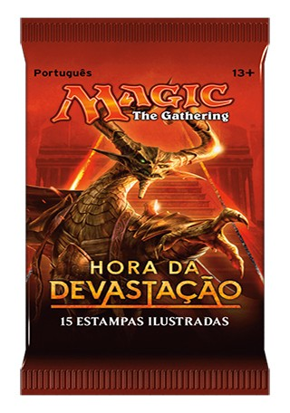 BOOSTER HORA DA DEVASTAÇÃO - MAGIC THE GATHERING