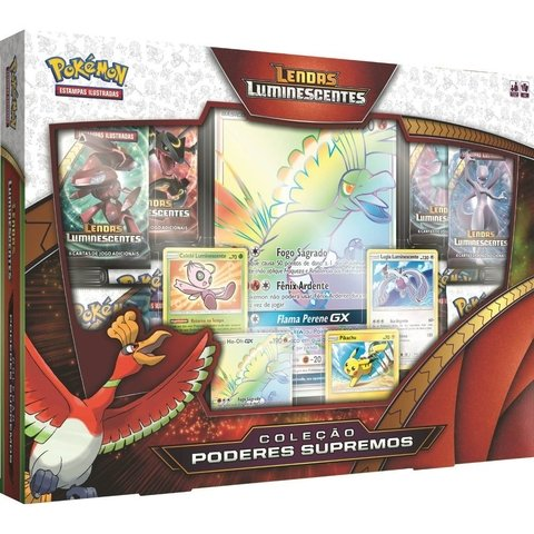BOX POKÉMON LENDAS LUMINESCENTES - PODERES SUPREMOS