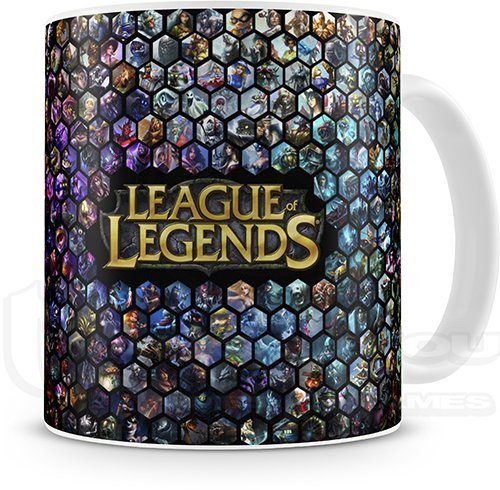 CANECA - LEAGUE OF LEGENDS - COD. 1986