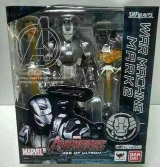 WAR MACHINE - MARK II - AVENGERS: AGE OF ULTRON - S.H. FIGUARTS - BANDAI