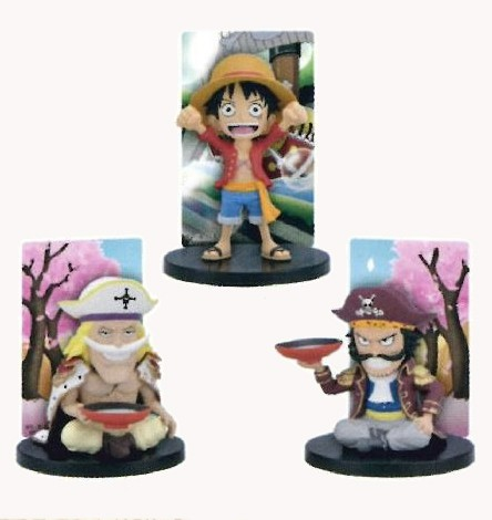 ICHIBAN KUJI ONE PIECE ROMANCE DAWN FOR THE NEW WORLD PREQUEL G PRIZE CARD SET COMPLETO BANPRESTO