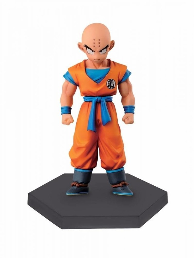 KURIRIN FIGURE COLLECTION DRAGON BALL Z BANPRESTO - comprar online