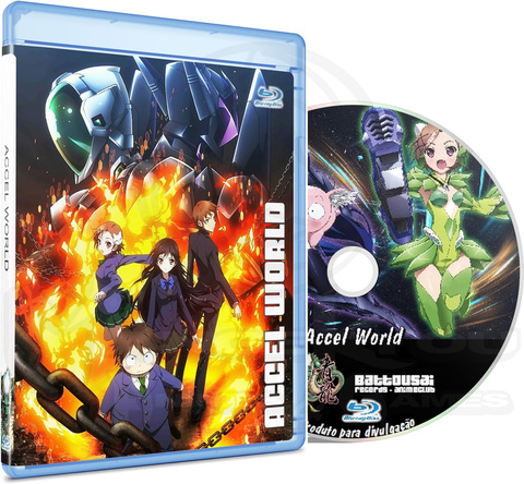 ACCEL WORLD - BLU-RAY