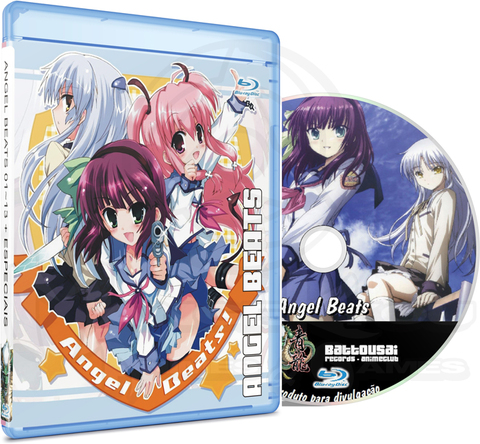 ANGEL BEATS 01-13 + ESPECIAIS 01-02 - BLU-RAY