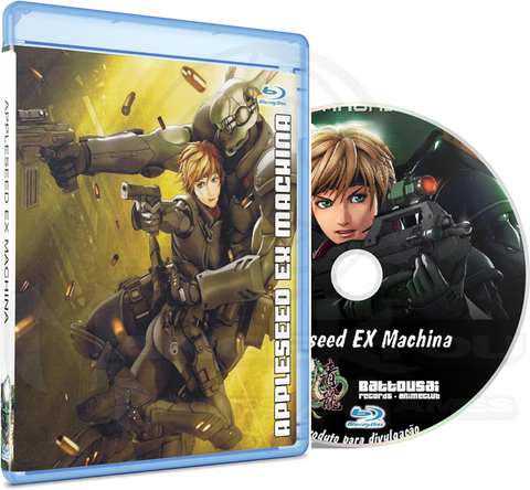 APPLESEED EX MACHINA - MOVIE (EDIÇÃO FANSUBBER) - BLU-RAY