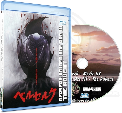 BERSERK GOLDEN AGE ARC III THE ADVENT - MOVIE - BLU-RAY
