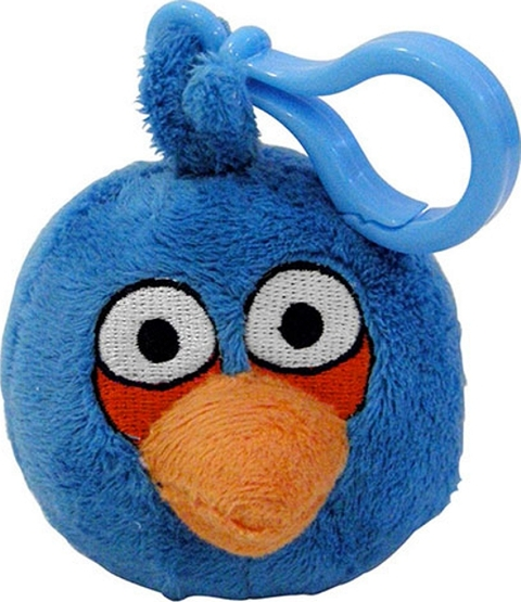 CHAVEIRO ANGRY BIRDS THE BLUE 13CM