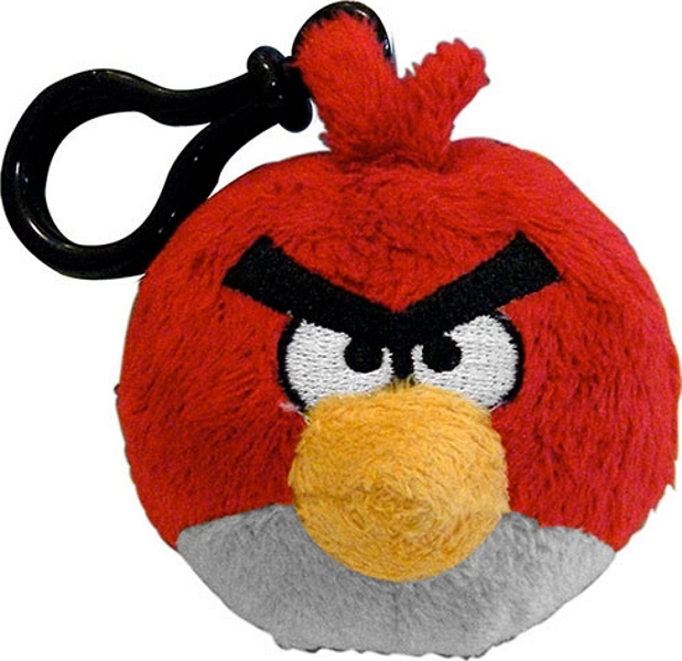 CHAVEIRO ANGRY BIRDS RED 13CM