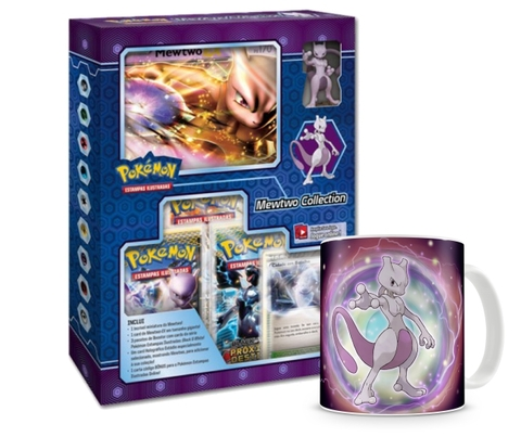 BOX POKÉMON MEWTWO COLLECTION + CANECA MEWTWO