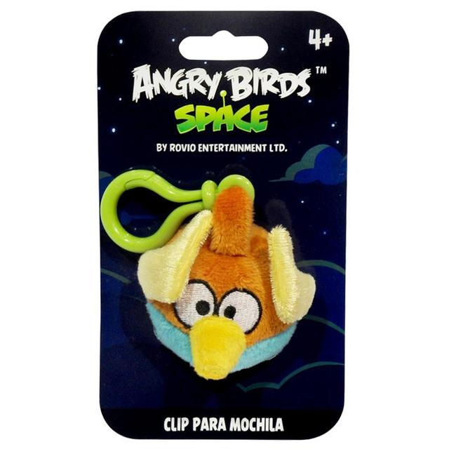 CHAVEIRO ANGRY BIRDS SPACE LIGHTNING 13CM