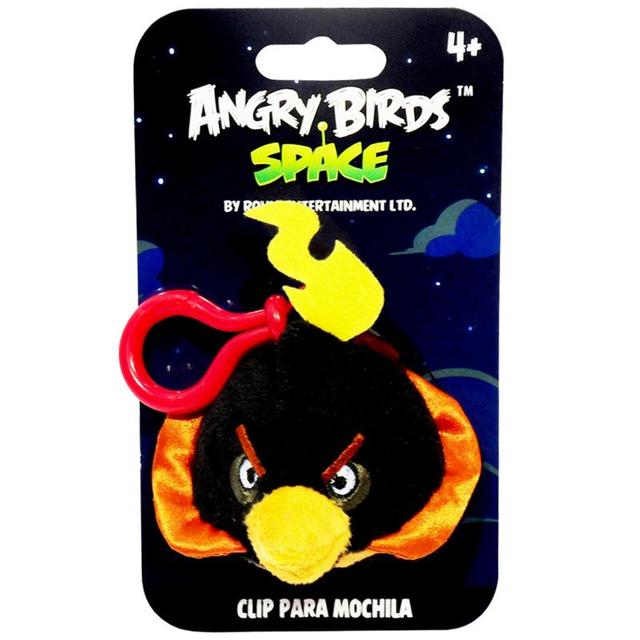 CHAVEIRO ANGRY BIRDS SPACE BOMB 13CM
